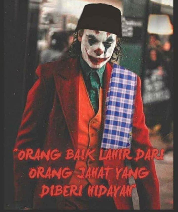 Ustadz Joker Betawi Dengan Gambar Jumat Lucu Lucu Joker