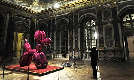 Balloon Dog, Jeff Koons, 2000 Crédit photo : The Guardian, 2008