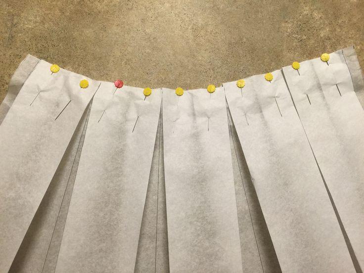 Great box pleat skirt tutorial                                                                                                                                                                                 More