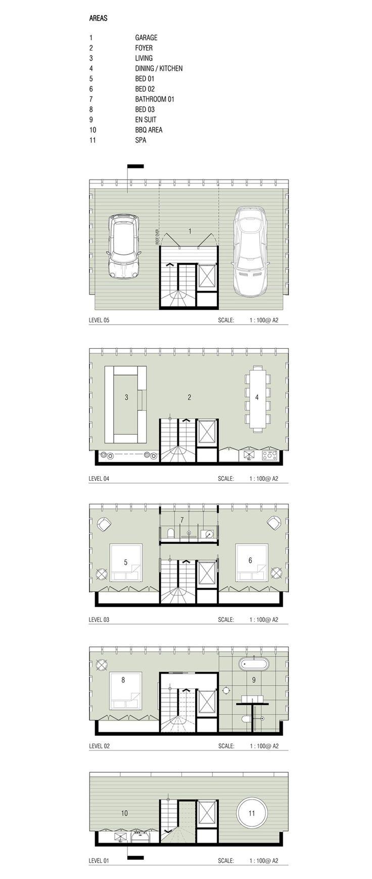 modscape cliff house concept victoria australia designboom