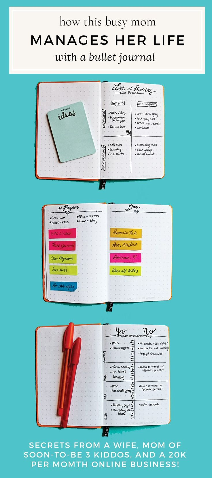 Bullet Journal Manage my Life