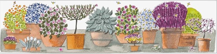 Ceramiche artistiche e piastrelle ceramica Design Julia Binfield Mary ann