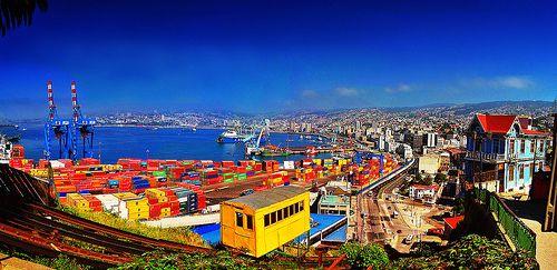 El ascensor de Valparaíso