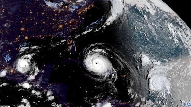 El huracán Katia también se fortalece y hoy golpearía en México