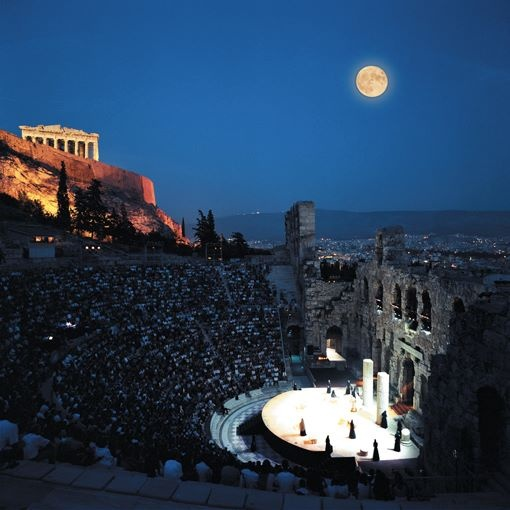 Odeon of Herodes Atticus, Athens #Greece