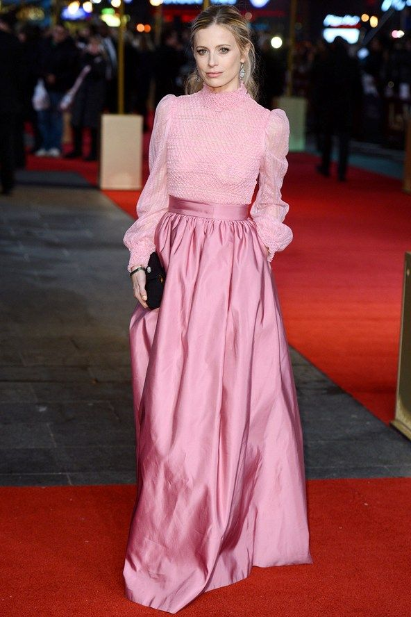 Laura Bailey at the premiere of 'Les Miserables'