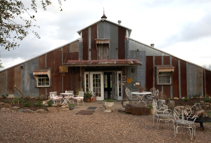 """Rachel Ashwell's Hotel in Round Top, Texas """"The Prairie."""" Named as MSL's """"best hotel as antiquing home base."""""""