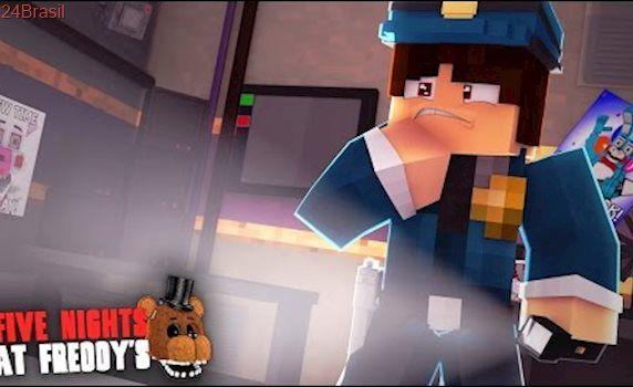 Minecraft: FIVE NIGHTS AT FREDDY'S #23 - A NOVA SALA DE VIGIA!! (SISTER LOCATION)