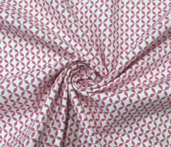 Playful pinwheels pink Panini Tessuti