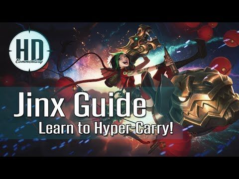 Jinx Guide Season 6 - Learn to Hyper-Carry - Runes, Masteries, Item Build - League of Legends - http://freetoplaymmorpgs.com/league-of-legends/jinx-guide-season-6-learn-to-hyper-carry-runes-masteries-item-build-league-of-legends