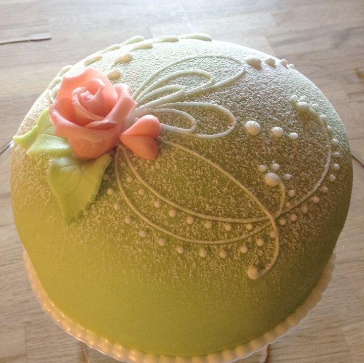 prinsesstårta - Swedish Princess Cake