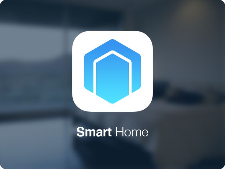 Icon for a smart home APP UI design project