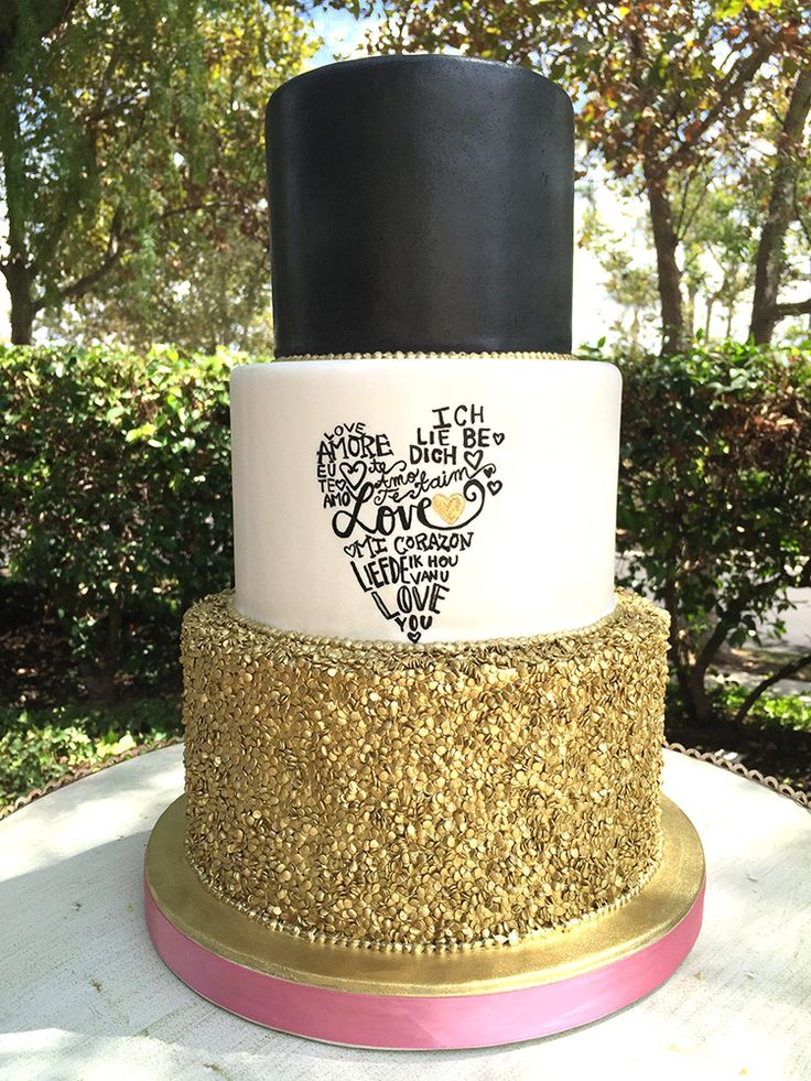 17 Best Images About Modern Wedding Cakes On Pinterest