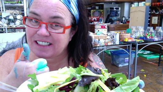 Rosie O'Donnell adopts plant-based diet