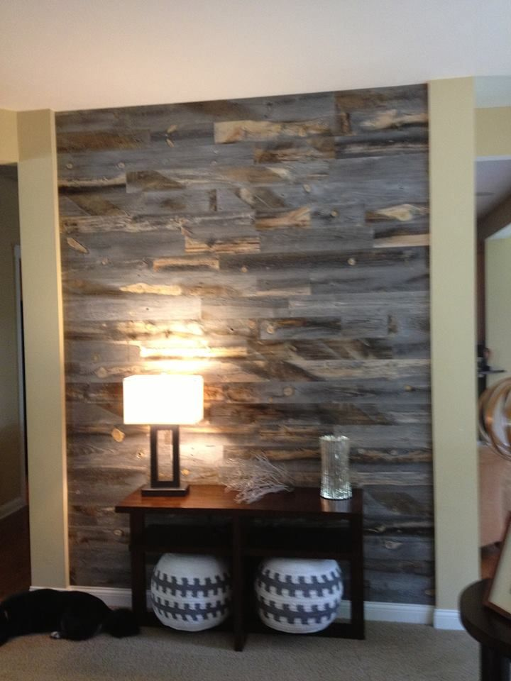 Stikwood reclaimed weathered wood