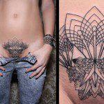 A tatuagem simétrica de Chaim Machlev