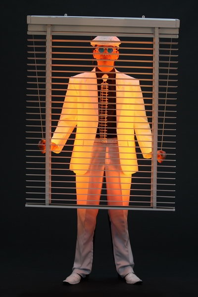 'Colour Blind' by Dinah Walker, Auckland  2009 Runner Up Man Unleashed