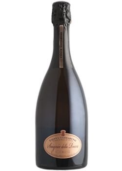 The very well known quality of Pinot Noir coming from Rocca de' Giorgi is perfectly recognizable in this Metodo Classico Rosè. The short maceration of grapes gives to the wine an interesting onion skin hues very appealing and involving.  http://www.papounti.it/cantine/contevistarino/Vino-rosato/Saigne-della-Rocca-Cruas-docg-Ros/2012/407
