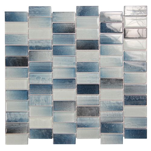 Extant Emerald 1x2 Pool Mosaic Glass Tile