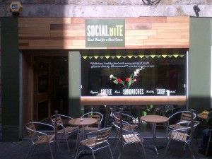 Social Bite is a social business serving excellent, ethically sourced food :-)