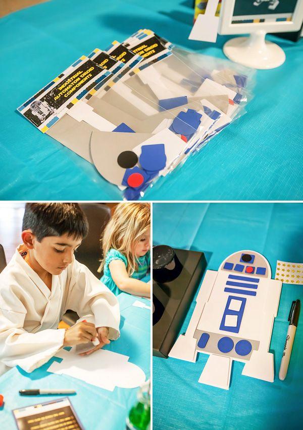 Star Wars Kindergeburtstagsparty: Deko Ideen und viel mehr!