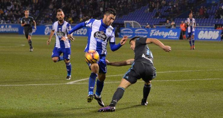 Carles Gil y Çolak (detrás) fueron de los más destacados en el partido de anoche en Riazor quintana