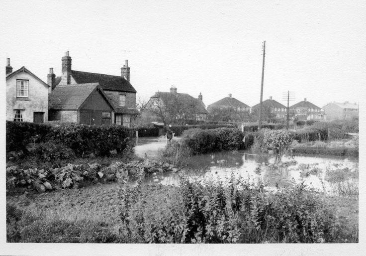 53 Broyle Lane Ringmer, flooded