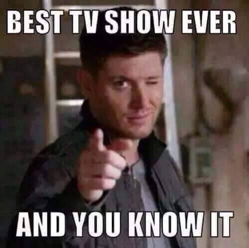Best tv show ever and you know it.
