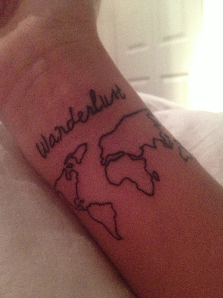 Wanderlust #tattoo #travel