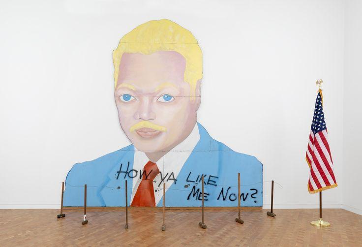 "David Hammons, ""How Ya Like Me Now?"" 1988"