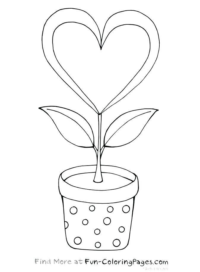 Printable Coloring Pages Hearts Coloring Pages Of Flowers And Hearts With Images Heart Coloring Pages Printable Coloring Pages Coloring Pages