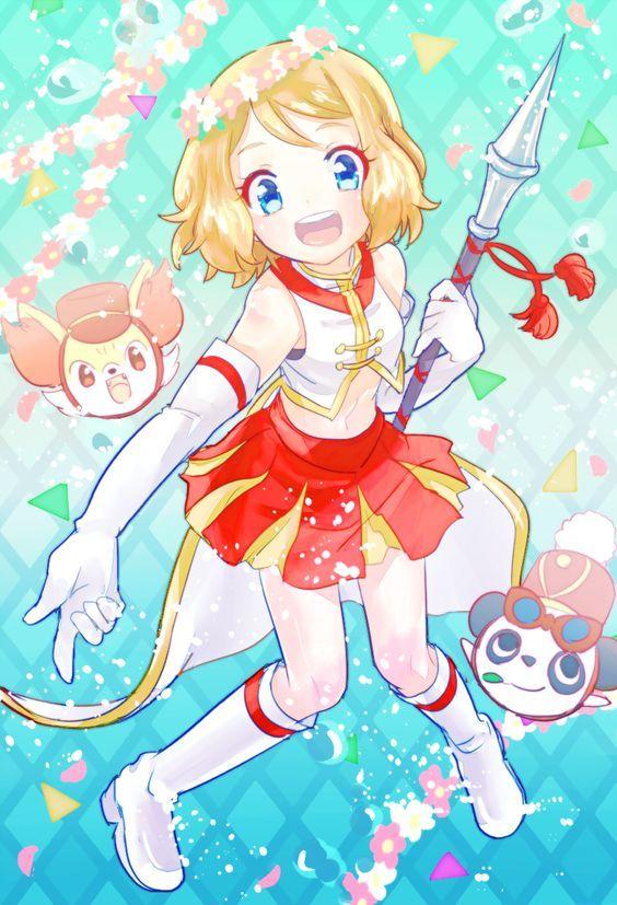 Pokemon XY Serena Wallpaper by Pishedieguin1 on DeviantArt