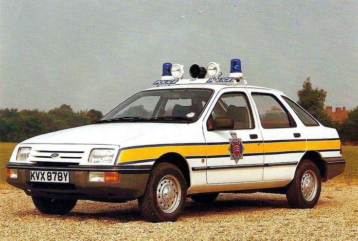British - 1982 Ford Sierra Essex police