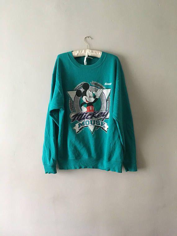Vintage 1990s Disney Jumper  Retro Mickey Mouse Sweater