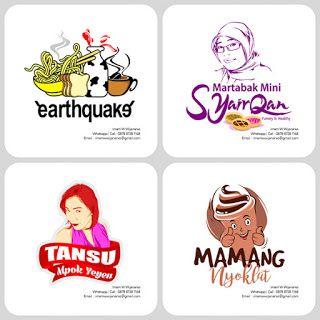 Desain Logo   Logo Kuliner    Desain Gerobak   Jasa Desain dan Produksi Gerobak…