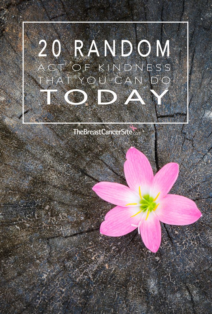 Remember how great you felt the last time a stranger flashed a smile your way? Or how exciting it was when you found extra change in a vending machine as a kid?  Kindness is truly what makes the world go 'round, and we all have the power to make someone's day. Here are 20 things you can do today to pay it forward.