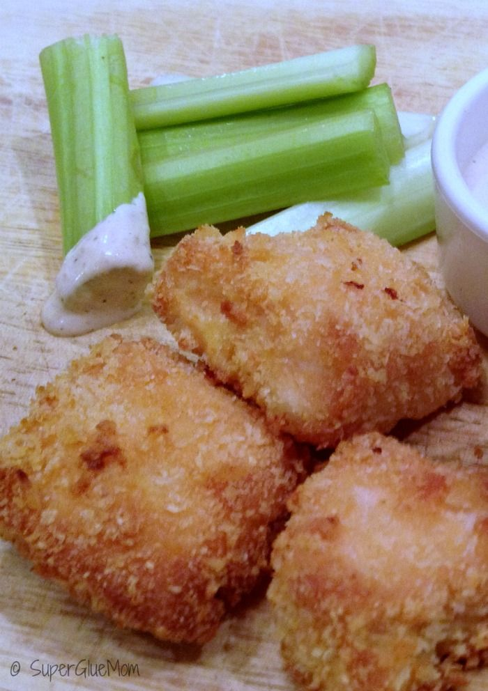 Healthy Baked Salmon Nuggets