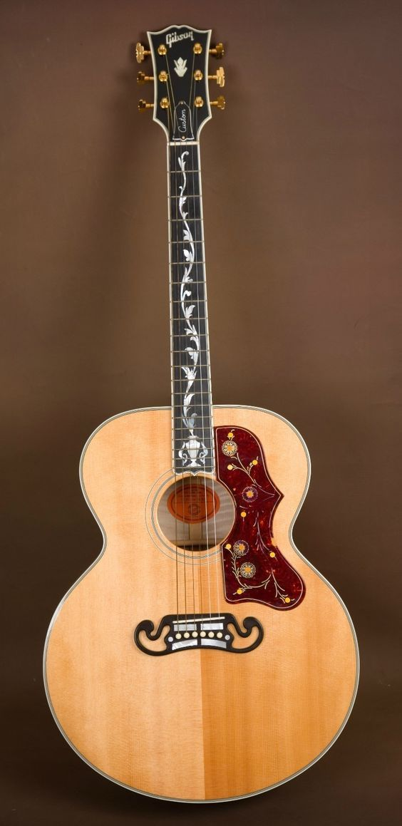 2006 Gibson SJ 200 Pearl Vine Custom Acoustic Guitar J 200