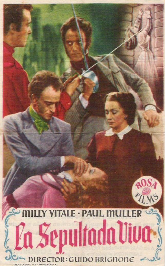 """La sepultada viva (1949) """"La sepolta viva"""" de Guido Brignone - tt0040774"""