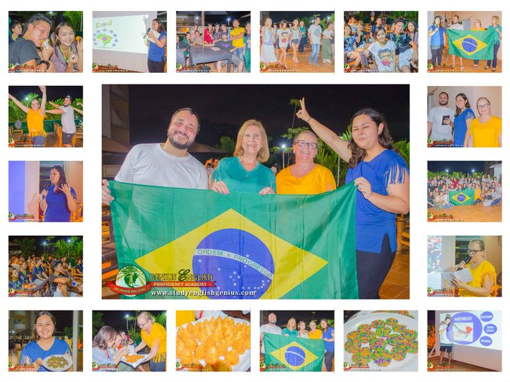 Brazilian Day on 9-27-17.   It's Brazilian Day! The Genius English Proficiency Academy celebrated the first ever Brazilian Day yesterday.   It was amazing and informative. The Brazilian students presented to us a lot of information regarding their country from North to South. There are many interesting facts about Brazil you could never imagine.  Website: www.studyenglishgenius.com Russian website: www.studyenglishgenius.com/ru/ E-mail: info@studyenglishgenius.com Skype ID…