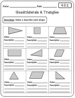 math worksheet : 26 best images about geometry shapes on pinterest  lego math  : Fourth Grade Common Core Math Worksheets