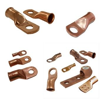 #CopperLugs  #CopperCableLugs  Our company is the renowned manufacturer, supplier and exporter of #coppercablelugs.  These copper cable lugs are highly demand in national and international market due to its best quality raw materials. Their easy installation and long lasting performance attract our customers. Further it is a pure copper material with a long life and affordable price.