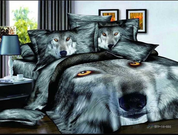 amazing wolf duvet cover set for the wolf lover