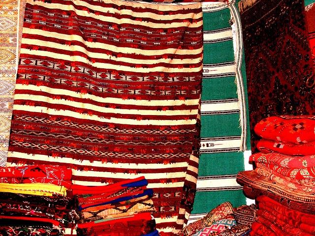Tappeti marocchini/ Maroccan carpets. by Gargio78, via Flickr