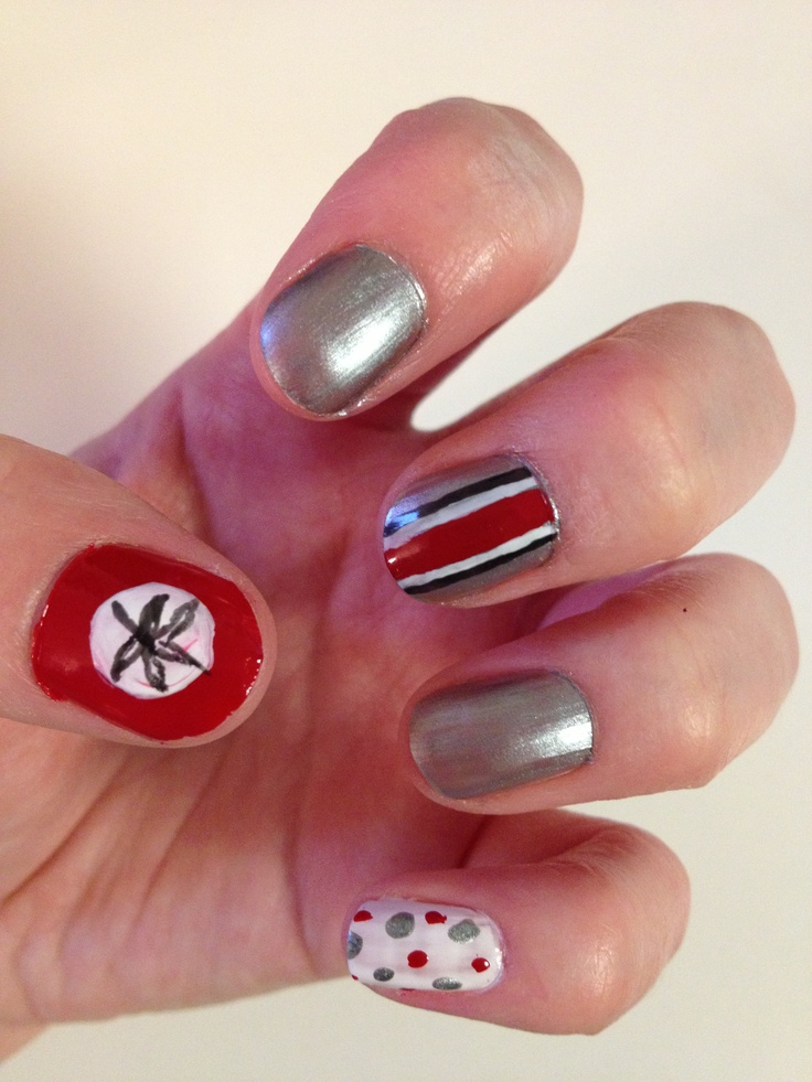 117 best NAILS-Football images on Pinterest | Seahawks nails ...