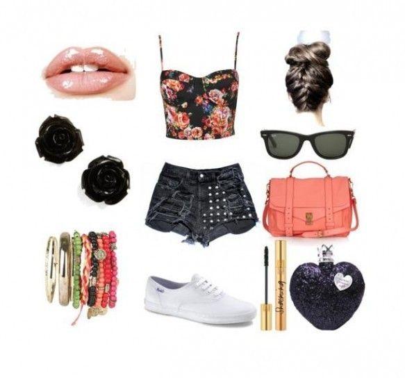 un outfit de verano