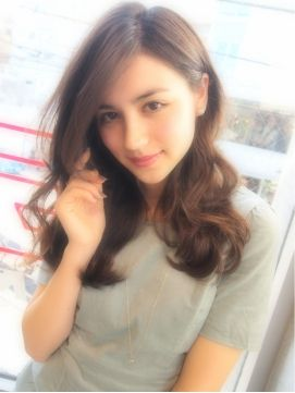 シマ 代官山店 SHIMA【SHIMA】ゆるふわミディ外国人風パーマスタイル