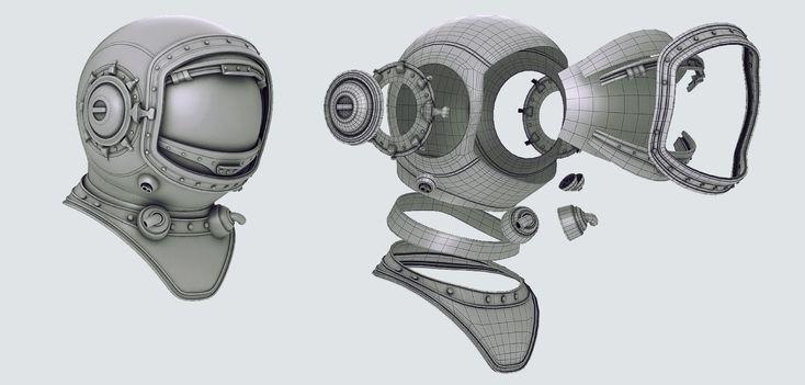"""Making Of """"Ретрофутурист"""" — Компьютерная графика и анимация — Render.ru"""