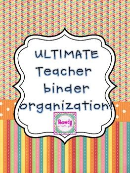 FREE! These cover sheets will help you to keep your teacher binder organized! You can use them as inserts to individual binders or keep them all in one l...: Binder Organizations, Ultimate Teacher, Binder Covers, Covers Sheet, Teacher Binder Organization, Individual Binder, Free Printable, Teacher Organizations, Classroom Ideas