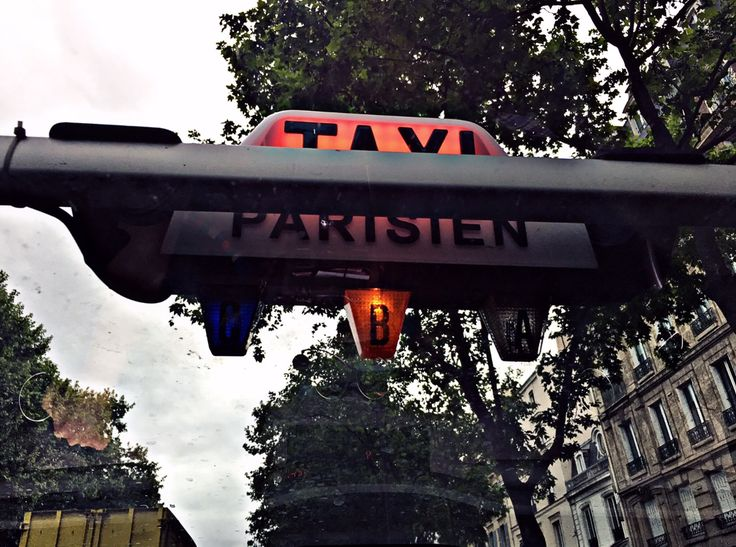 From #paris with love! #parisientaxi